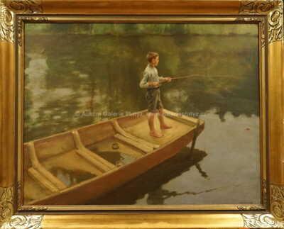 František Antonín Jelínek - Mladý rybář