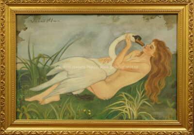 Vlastimil Hofman - Dívka s labutí