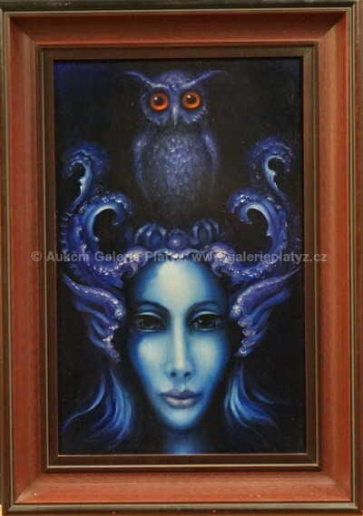 Kněžka modré meditace