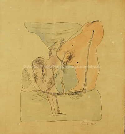 Josef  Šíma - Abstraktní kompozice