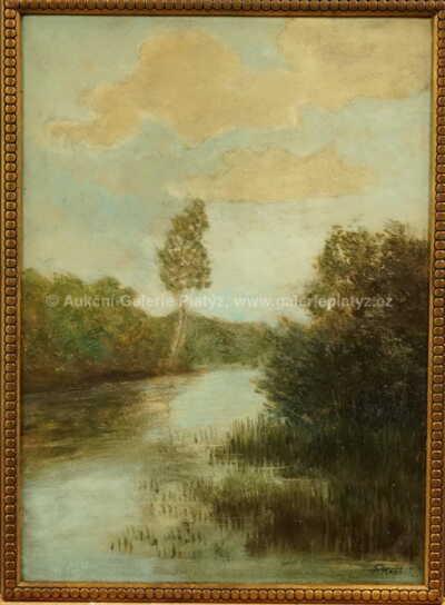 Josef Král - Na říčním břehu