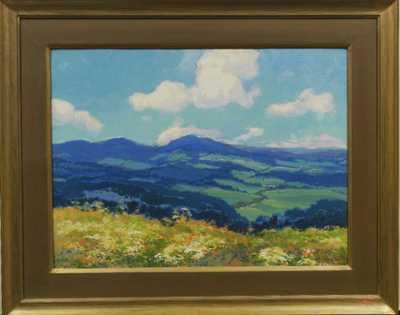 Karel Langer - Pohled do krajiny