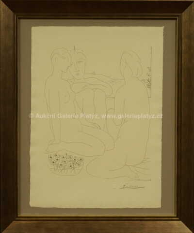 Pablo Picasso - Tři ženy