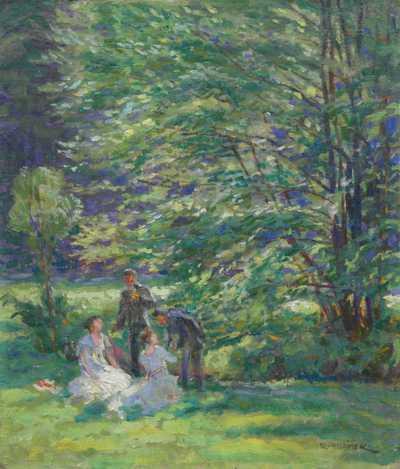 Rudolf Adámek - Pod stromy
