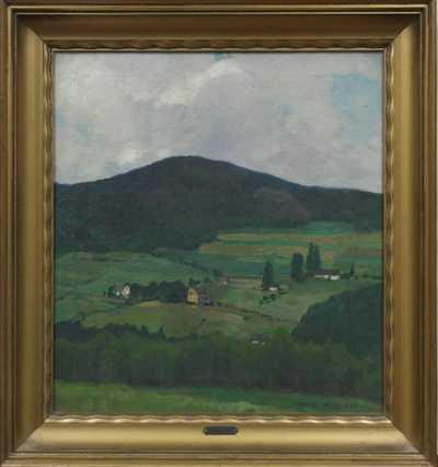 Otakar Hůrka - Vesnička pod kopcem