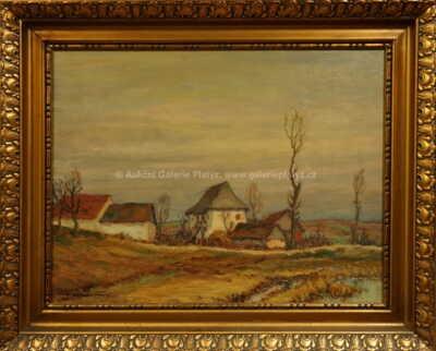 Ota Bubeníček - Hornické domky ze Staré Vožice