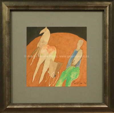 Milan Paštéka - Muž s koněm