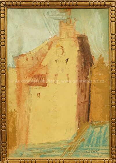 Josef  Šíma - Starý dům