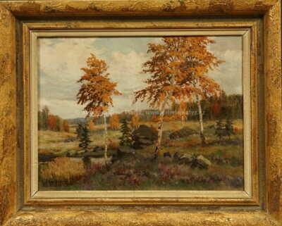 Gustav  Porš - Barevný podzim