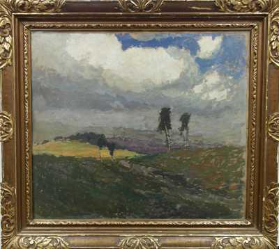 Gustav Macoun - Pohled do krajiny