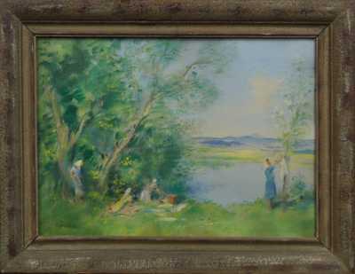 Bohumil Ullrych - U rybníka