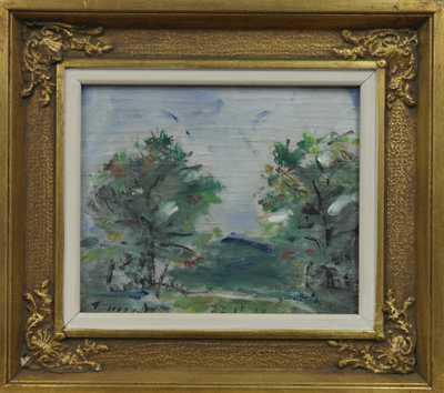 František Jiroudek - Rozkvetlé stromky