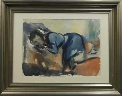Vincent Hložník - Spící