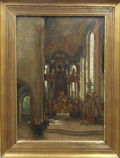 Stanislav Feikl - Interiér kostela