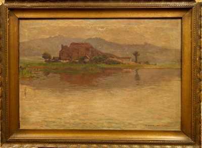 František Cína - Jelínek - Chalupa u rybníka
