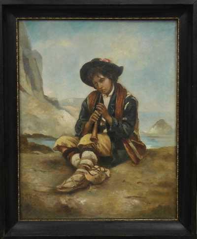 Hermann Armin Kern - Mládenec s píšťalkou