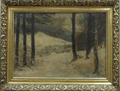A.  Schumann - Zasněžená vesnička