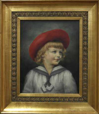 Autor neurčen - Portrét dítěte