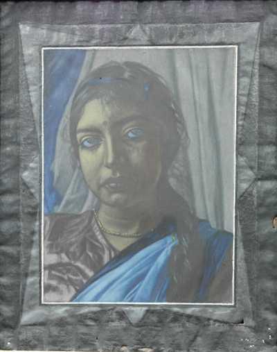 Jaroslav Hněvkovský - Portrét indické dívky