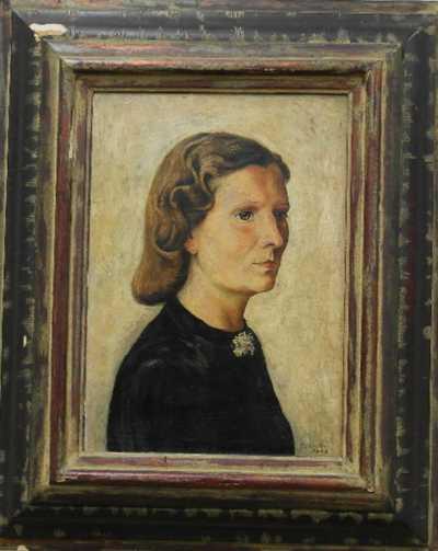 Cyril Bouda - Portrét ženy