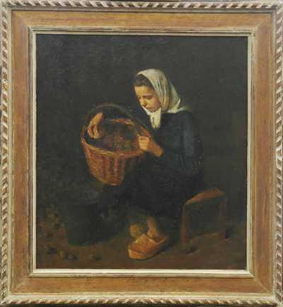 Josef Multrus - Sběračka brambor