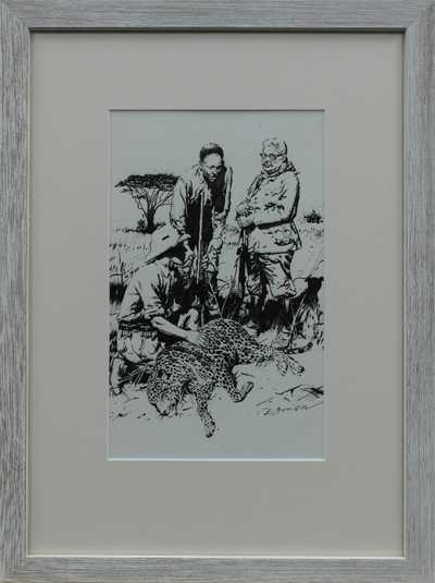 Zdeněk Burian - Na lovu