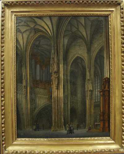 Ludvík Kohl - Interiér kostela