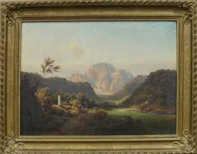 Nesignováno - Kostelík v údolí