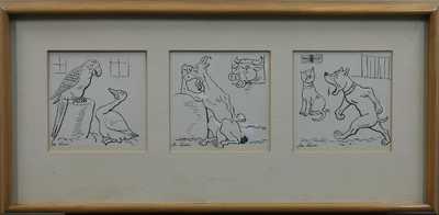 Josef Lada - Konvolut tří obrázků