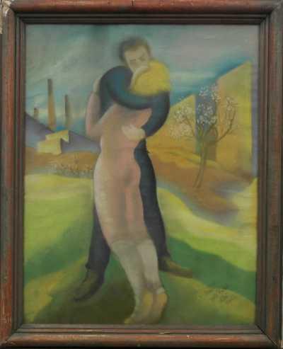 Autor neurčen - V objetí