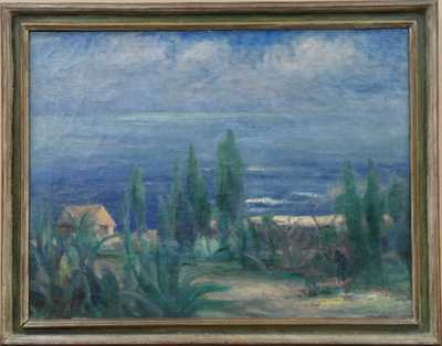 Augustin Ságner - Domek na pobřeží
