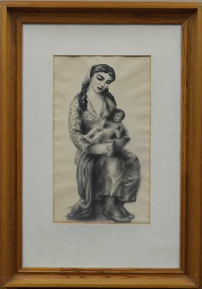 Antonín Procházka - Matka s dítětem