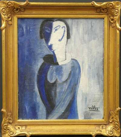 Jaroslav Kafka - Žena ve světle