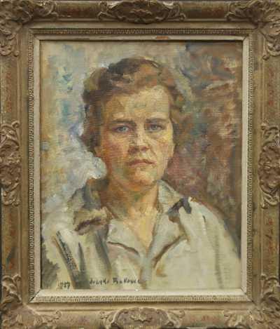 Ivanka Bukovac - Autoportrét