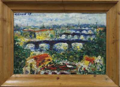 František Chaun - Pražské mosty