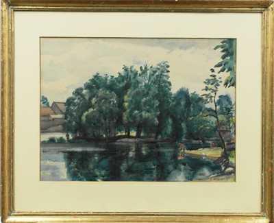Alois Moravec - Na řece