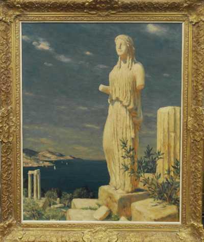 František Tavík Šimon - Řecké ruiny
