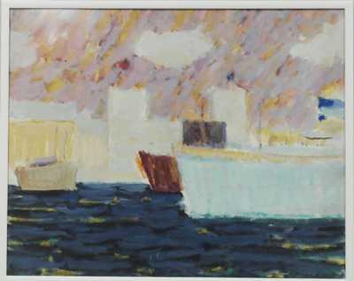 Kamil Linhart - Lodě v přístavu
