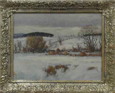 Karel Balíček - Zimní krajina