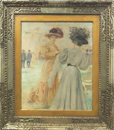 Luděk Marold - Dámy v Paříži