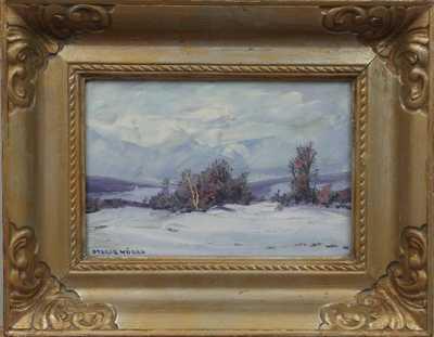 Otakar Hůrka - Remízek v zimě
