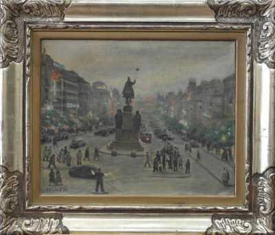 Atanas Tasev - Václavské náměstí