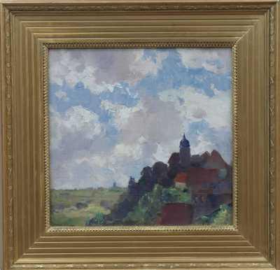 Gustav Macoun - Vesnička na kopci