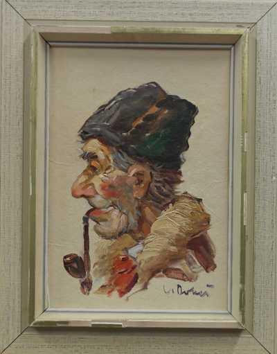 Ludvík Dobeš - Děda s fajfkou