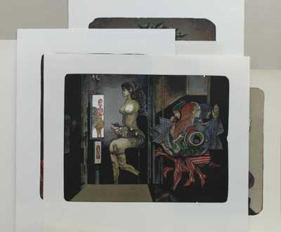 Josef Liesler - Konvolut pěti litografií