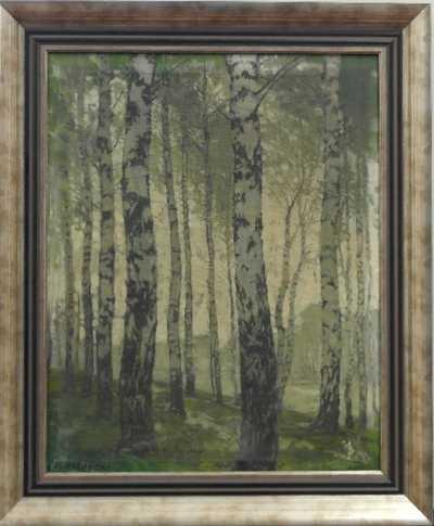 Alois Kalvoda - Březový les