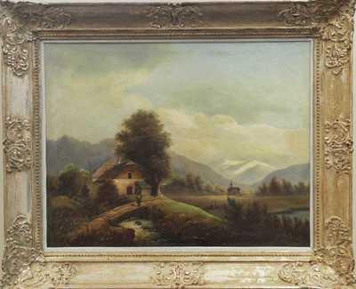 František Skála_ - Alpské údolí