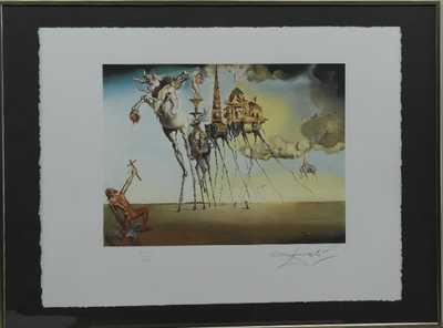 Salvador Dalí - La tentation de Saint-Antoine