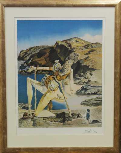 Salvador Dalí - Spectre Du Sex Appeal