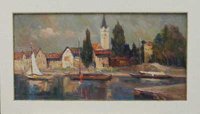 Karel Hodr - Na Bodamském jezeře